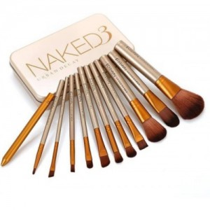Smart Urban Decay Naked3 Makeup Brush Set -Pack of 12