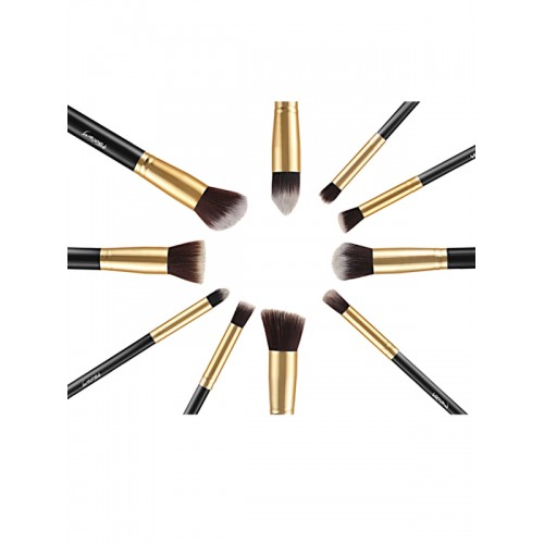 Foolzy Set of 10 Makeup Brushes