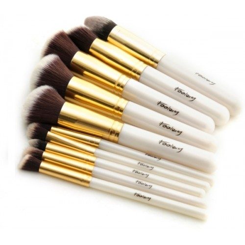 Foolzy Professional Makeup Brushes Kit -Pack of 10