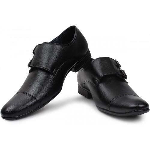 BUWCH Men Formal Monk Shoe For Men Monk Strap For Men