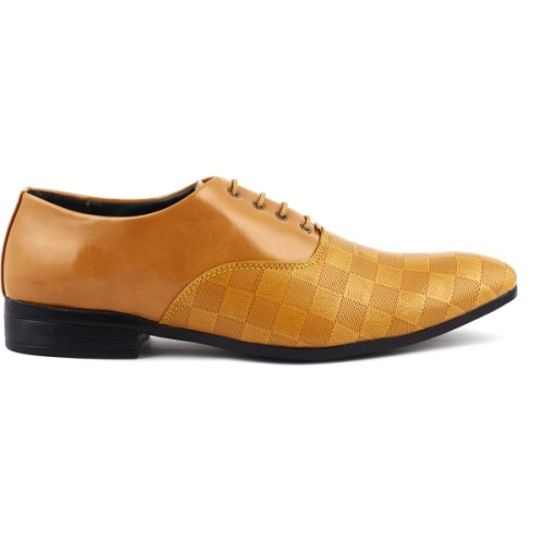 Denill Tan Men's Formal Shoes