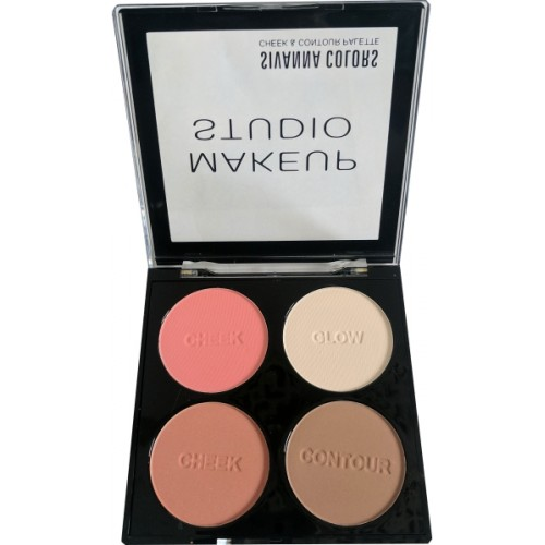 Sivanna Makeup Studio Cheek Palette