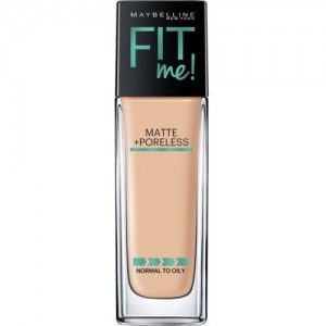 Maybelline Fit Me Foundation  (128 warm beige chaud)