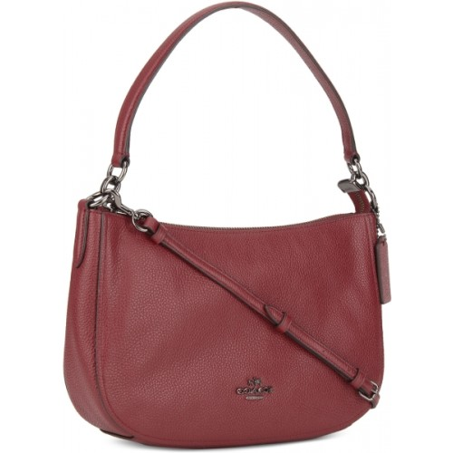 73905d6e0c Buy Coach Women Red Genuine Leather Sling Bag online