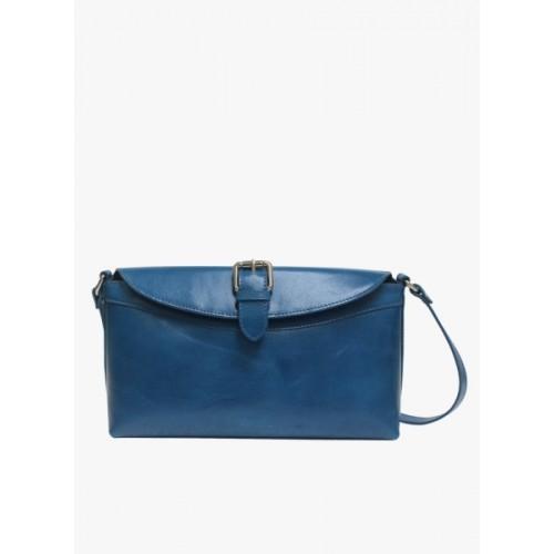 8431c45d3941 Buy La Roma Women Blue Genuine Leather Sling Bag online