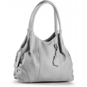 Fostelo Grey Polyurethane Shoulder Bag
