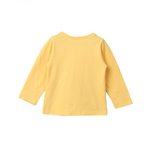 Beebay Girl Yellow Cotton T-Shirts