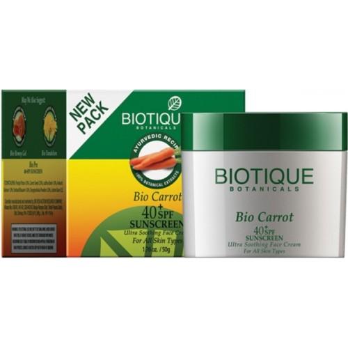 Biotique Bio Carrot Sunscreen - SPF 40 PA+