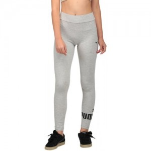 Puma Printed Grey Cotton Tights