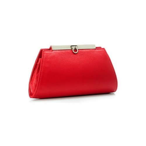Buy Phive Rivers Women Red Leather Clutch-PR868 online  13382b483dd16