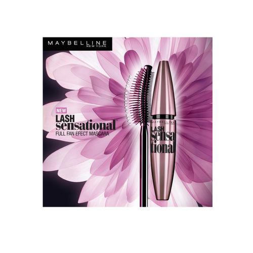 Maybelline New York Lash Sensational Very Black Waterproof Mascara 9gm