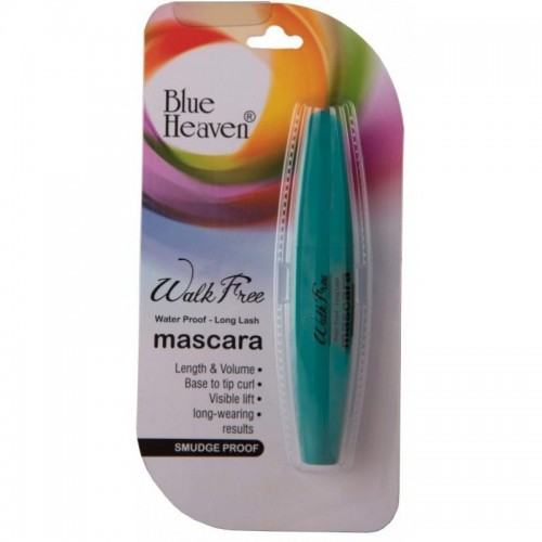 Blue Heaven Walk Free Mascara (Water Proof - Long Lash) - Green Pack (12ml)