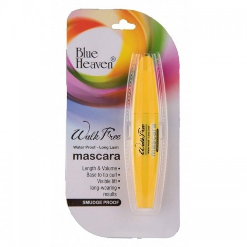 Blue Heaven Walk Free Mascara (Water Proof - Long Lash) - Yellow Pack