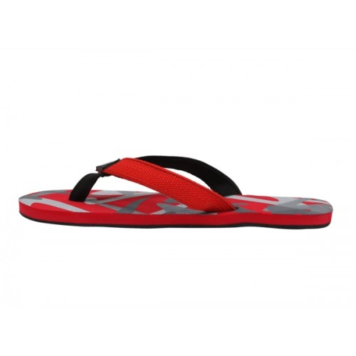 Stylar Red Flip Flops For Men