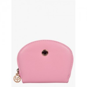 Lino Perros Women Pink Leather Wallet