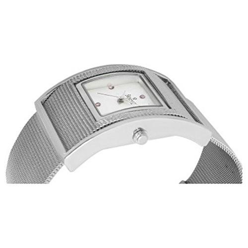 Swisstyle Analog watch for women- SS-LSQ001-WHT-SCH