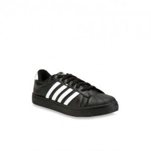 Sparx SD-323 Black Synthetic Lace Up Sneakers