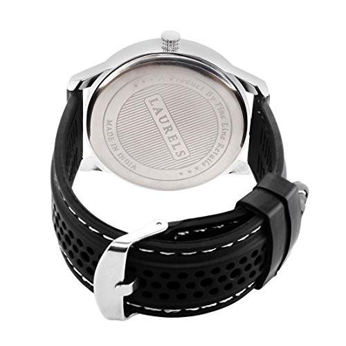Laurels Excess Analog Black Dial Men's Watch - Lo-Excess-0202