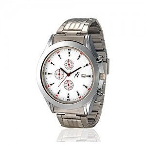 Yepme Original Chronograph White Dial Men's Watch - YPMWATCH3004