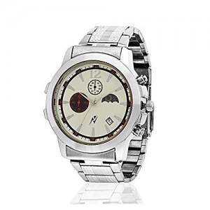 Yepme Original Chronograph Ivory Dial Men's Watch - YPMWATCH3035