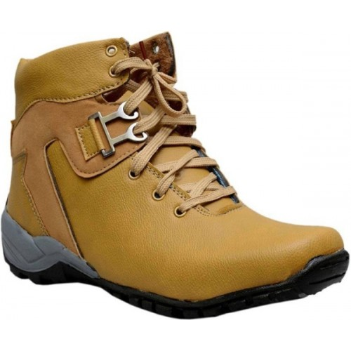 Deals4you Men Casual Stylish Synthetic Leather Boots Shoes