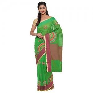 The Chennai Silks Cotton Saree with Blouse Piece