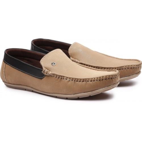 Andrew Scott Men's Brown Synthetic Loafers For Men