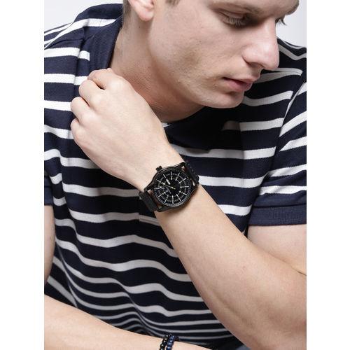 Daniel Klein Premium Black Leather Analogue Watch DK11599-5