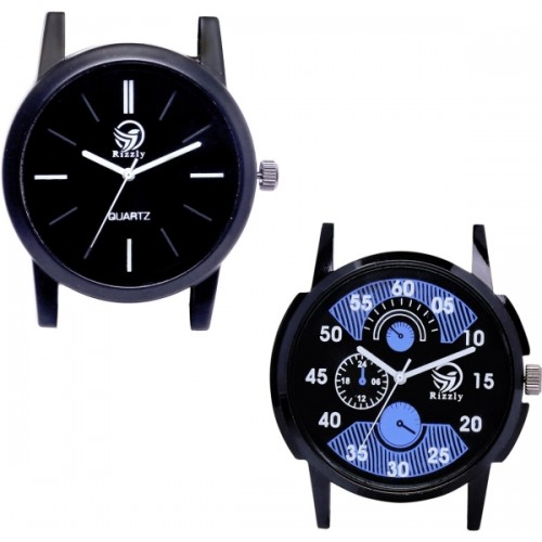 Rizzly Set of Two Combo R-02-05 Watch  - For Men