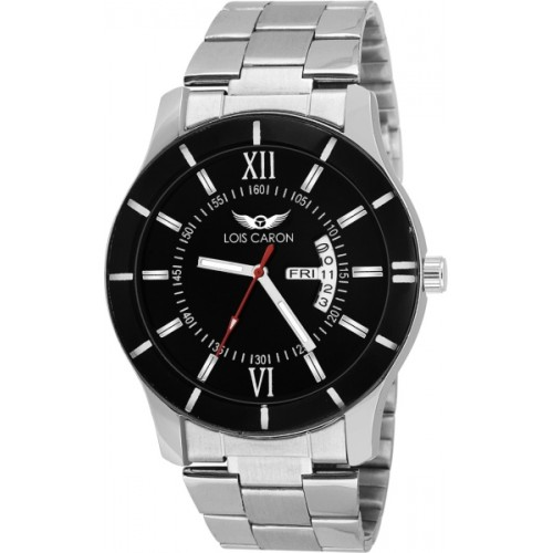 Lois Caron LCS-8015 DAY AND DATE FUNCTIONING Watch  - For Men