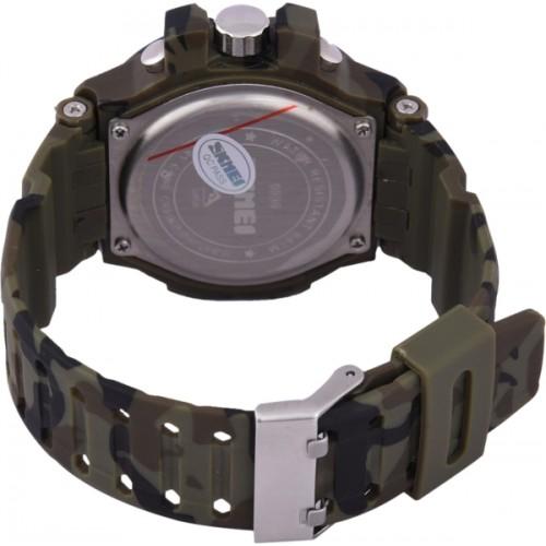Skmei Brown Chronograph Digital Watch