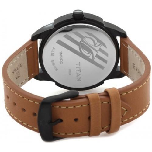 Titan NH1585NL02C Purple Watch  - For Men