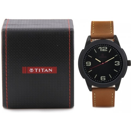 Titan NH1585NL02C Purple Watch  - For Men