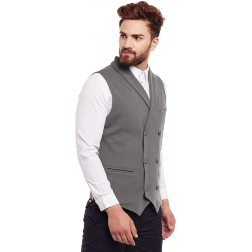 08b94d7e229 Buy Hypernation Solid Men Waistcoat online