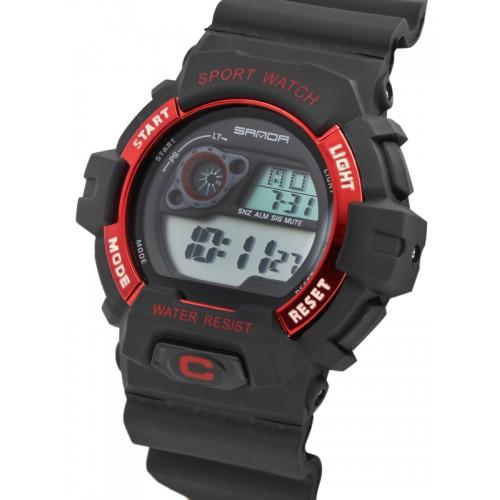 b54e5ff1f5f853 Buy SANDA Men Black Multifunction Digital Watch S310BKRD online ...