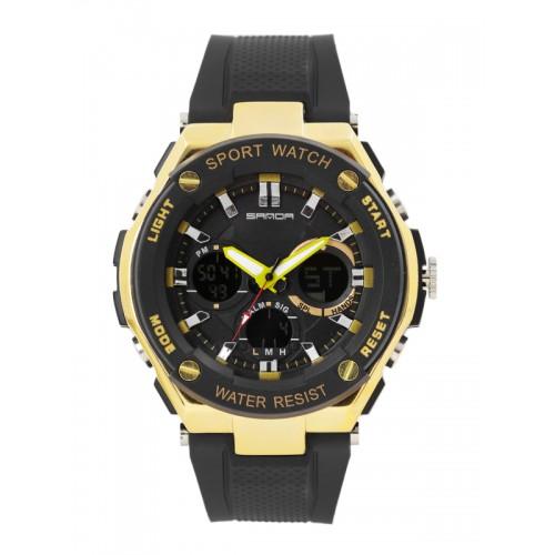 d22ae5bcc567e7 Buy SANDA Men Black Analogue   Digital Watch S733BKGD online ...