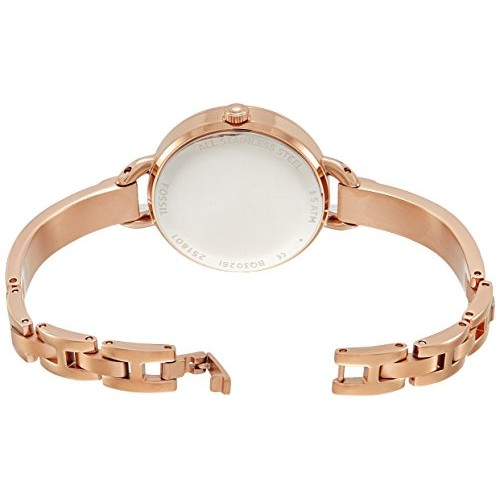 Fossil Rose Gold Analog Dial Women's Watch-BQ3026
