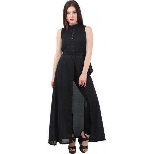 Buy My Swag Women s Maxi Black Dress online  b7957766c9