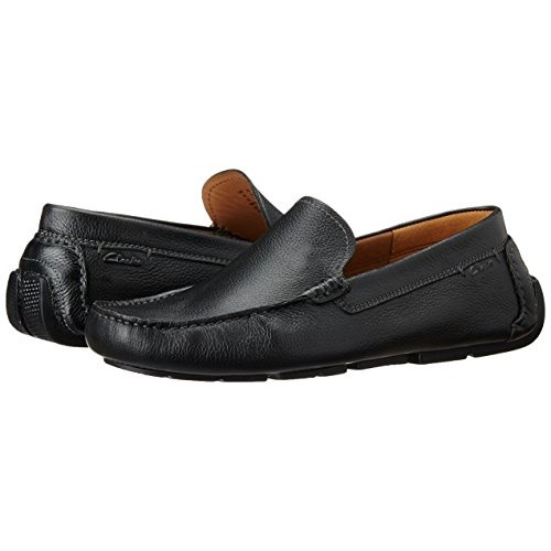 07136c4b Buy Clarks Men's Davont Drive Leather Loafers and Mocassins online ...
