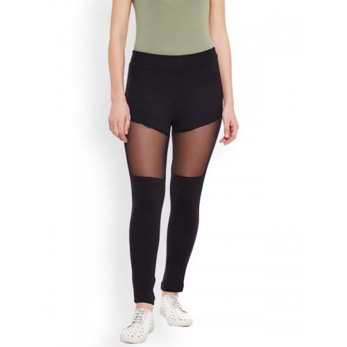 c00f776052b52 Buy Rider Republic Women Black Slim Fit Jeggings online