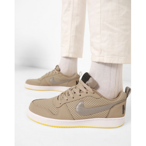 super popular 98cf4 d42e8 ... NIKE Court Borough Perforated Lace-Up Sneakers ...