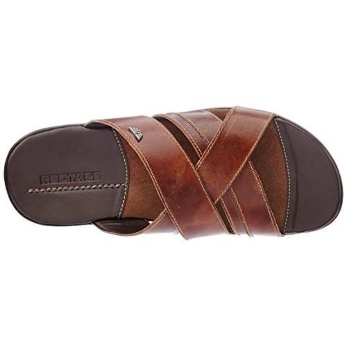 Buy Red Tape Men's Brown Leather Chappal online   Looksgud.in
