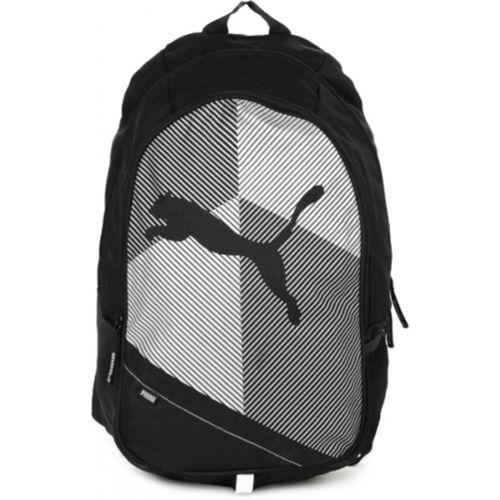 Puma Echo Plus Black & White Unisex Backpack