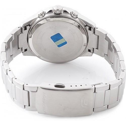 Casio Silver Round Chronograph  Watch - EFR-527D-1AVUDF (EX098)