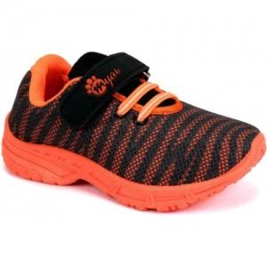 Myau Boys & Girls Velcro Running Shoes