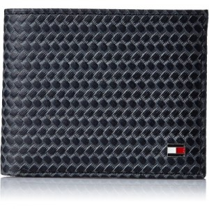 Tommy Hilfiger Men Black, Grey Genuine Leather Wallet