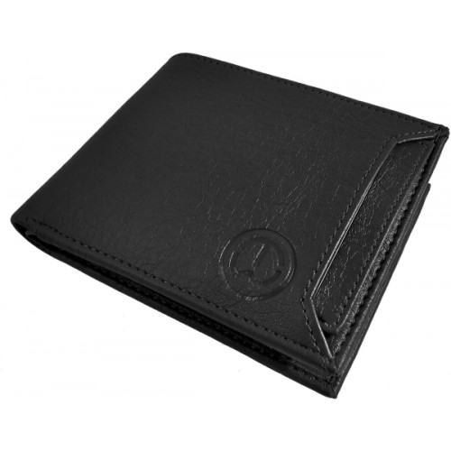 SA Enterprises Men Black Artificial Leather Wallet