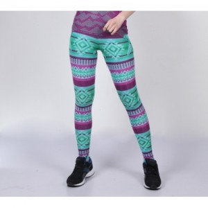 Yogue Printed Multicolor Striped Tights