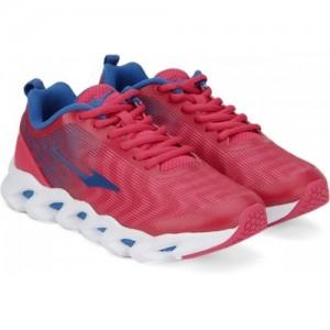 Erke Training & Gym Pink Lace Up Shoes