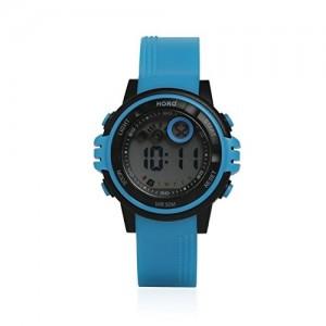 Horo Blue Kids Digital Sports Water Resistant Wrist Watch